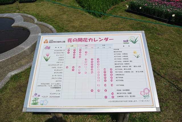 花のカレンダー